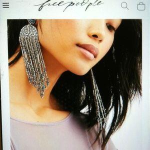 Free people Hours ahead dangle earrings